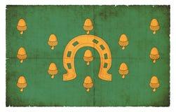 Bandera del Grunge de Rutland Council Great Britain stock de ilustración