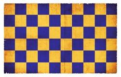 Bandera del Grunge de Surrey Gran Bretaña Imagenes de archivo