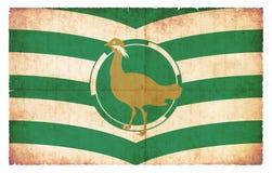 Bandera del Grunge de Wiltshire Gran Bretaña Imágenes de archivo libres de regalías