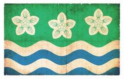 Bandera del Grunge del Cumberland Gran Bretaña Imagen de archivo