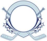 Bandera del hockey. Imágenes de archivo libres de regalías