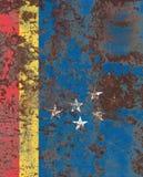 Bandera del humo de la ciudad de Durham, Carolina State del norte, Estados Unidos de A Imagenes de archivo