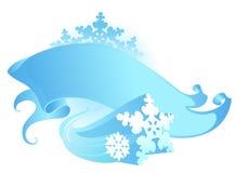 Bandera del invierno Fotografía de archivo libre de regalías