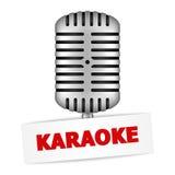Bandera del Karaoke Foto de archivo libre de regalías
