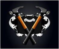 Bandera del martillo Imagen de archivo
