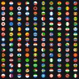 Bandera del mundo Fotos de archivo libres de regalías