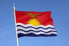 Bandera del océano de Kiribati - de South Pacific Fotografía de archivo