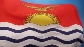Bandera del océano de Kiribati - de South Pacific libre illustration