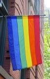 Bandera del orgullo Imágenes de archivo libres de regalías