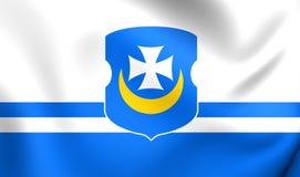 Bandera del Orsha, Bielorrusia Foto de archivo libre de regalías
