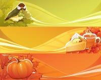 Bandera del otoño Imagen de archivo libre de regalías