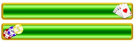 Bandera del póker (01) Imagen de archivo