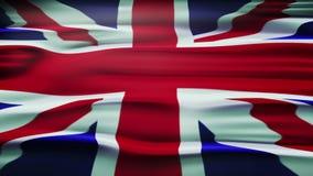 Bandera del Reino Unido de Gran Bretaña e Irlanda del Norte, también conocida como Union Jack stock de ilustración