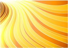 Bandera del resplandor solar - concepto del sol Libre Illustration