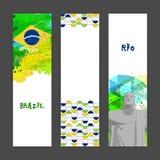 Bandera del sitio web fijada para el concepto de los deportes Imagen de archivo libre de regalías