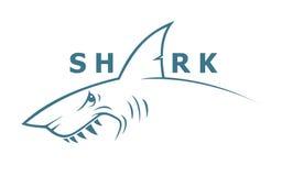 Bandera del tiburón Fotos de archivo