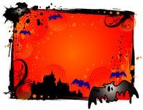 Bandera del vampiro de Víspera de Todos los Santos ilustración del vector