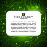 Bandera del vector del servicio de las TIC Puede ser utilizado para el diseño web, plantilla del folleto Fotografía de archivo libre de regalías