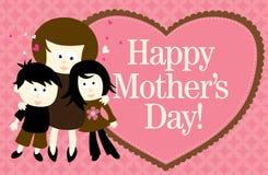 Bandera del Web del día de madre stock de ilustración