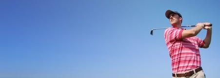 Bandera del Web que hace publicidad del modelo Fotografía de archivo