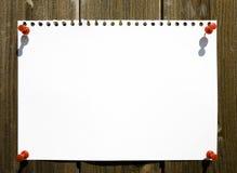 Bandera en blanco Imagen de archivo