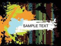 Bandera en blanco de Grunge libre illustration