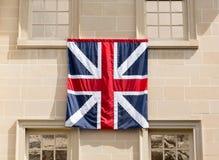 Bandera en Carlyle House en Alexandría VA Foto de archivo libre de regalías