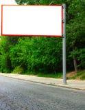 Bandera en la calle imagen de archivo libre de regalías