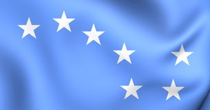 bandera estrellada del arado 3D libre illustration
