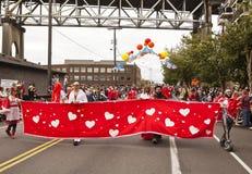 Bandera estupenda del corazón de Hugger Fotos de archivo