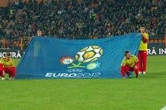 Bandera Euro2012 Imagen de archivo