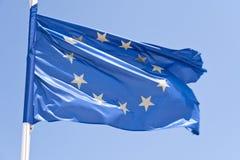 Bandera europea Imagen de archivo