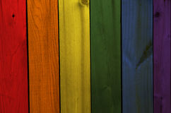 Bandera gay Foto de archivo libre de regalías