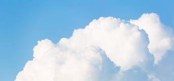 Bandera horizontal de Cloudscape Fotos de archivo libres de regalías