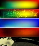 Bandera horizontal del vector Foto de archivo
