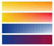 Bandera horizontal del Web. Fácil cambiar tamaño. ilustración del vector