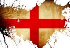 Bandera inglesa Foto de archivo libre de regalías