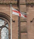 Bandera inglesa de Inglaterra Imagenes de archivo