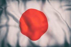 Bandera japonesa Fotos de archivo