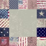 Bandera los E.E.U.U. Fotografía de archivo libre de regalías