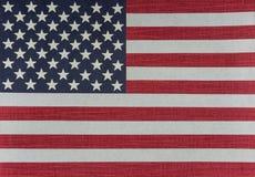 Bandera los E.E.U.U. - EEUU de Estados Unidos fotografía de archivo libre de regalías