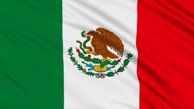 Bandera mexicana stock de ilustración