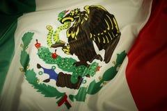 Bandera mexicana Fotos de archivo
