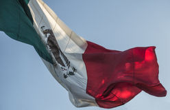Bandera mexicana Imagenes de archivo