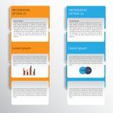Bandera moderna de las opciones del estilo del negocio Vector eps10 ilustración del vector