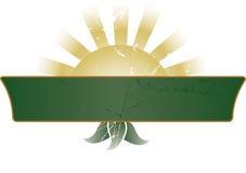 Bandera/muestra Imagen de archivo libre de regalías