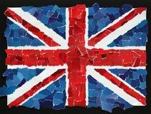 Bandera nacional BRITÁNICA imágenes de archivo libres de regalías