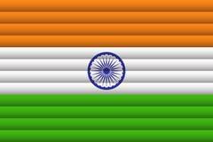 Bandera nacional de la India libre illustration
