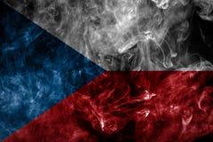 Bandera nacional de la República Checa fotografía de archivo