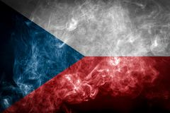 Bandera nacional de la República Checa libre illustration